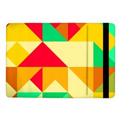 Retro Colors Shapes			samsung Galaxy Tab Pro 10 1  Flip Case by LalyLauraFLM