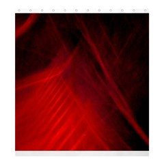Red Abstract Shower Curtain 66  X 72  (large)  by timelessartoncanvas
