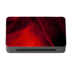 Red Abstract Memory Card Reader With Cf by timelessartoncanvas