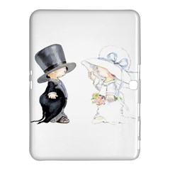 Little Bride And Groom Samsung Galaxy Tab 4 (10 1 ) Hardshell Case  by Weddings