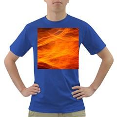 Orange Wonder Dark T Shirt by timelessartoncanvas