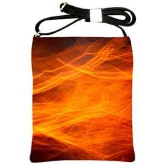 Orange Wonder Shoulder Sling Bags by timelessartoncanvas