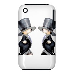 Little Groom and Groom Apple iPhone 3G/3GS Hardshell Case (PC+Silicone) by Weddings