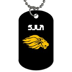 Sjla Dog Tags By Leo   Dog Tag (two Sides)   Wpctwsektpao   Www Artscow Com Front