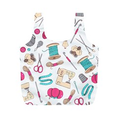 Crafty Full Print Recycle Bags (M)  by miranema
