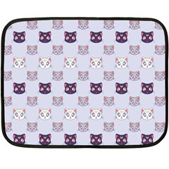 Sailor Moon Cats Mini Fleece Blanket (single Sided) by KateBee