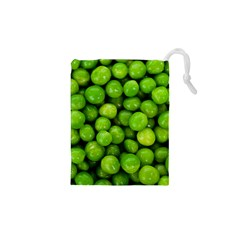 Peas Rule By Ignatius Rake Drawstring Pouches (XS)  by RakeClag