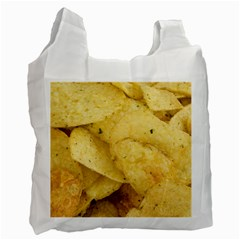 Crisps By Sandi Recycle Bag (Two Side)  by RakeClag