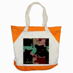 Retro Colors Texture accent Tote Bag by LalyLauraFLM
