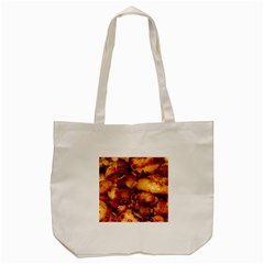 Tetters And Meat By Sandi Tote Bag (Cream)  by RakeClag