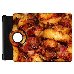 Tetters And Meat By Sandi Kindle Fire HD Flip 360 Case by RakeClag