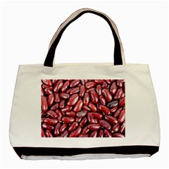 Kidney Beans By Sandi Basic Tote Bag (Two Sides)  by RakeClag