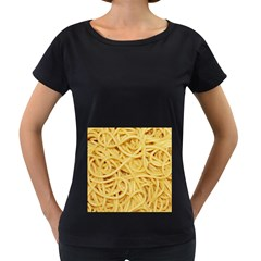 Spaghetti By Sandi Women s Loose-Fit T-Shirt (Black) by RakeClag