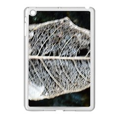 Modern Leaf Apple Ipad Mini Case (white) by timelessartoncanvas