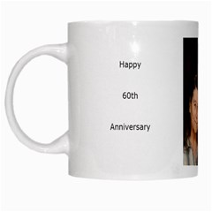 60th Anniversary By Claudia   White Mug   Jhdbwnrs82uo   Www Artscow Com Left