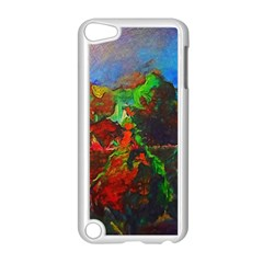 Chicago Park Painting Apple Ipod Touch 5 Case (white) by bloomingvinedesign