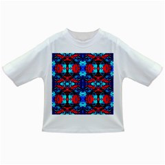 Red Black Blue Art Pattern Abstract Infant/Toddler T-Shirts by Costasonlineshop