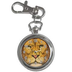 Regal Lion Drawing Key Chain Watches by KentChua