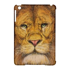 Regal Lion Drawing Apple Ipad Mini Hardshell Case (compatible With Smart Cover) by KentChua
