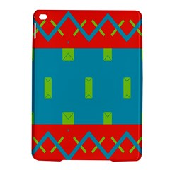 Chevrons And Rectangles apple Ipad Air 2 Hardshell Case by LalyLauraFLM