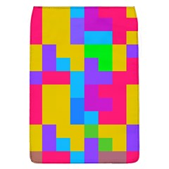 Colorful Tetris Shapes removable Flap Cover (l) by LalyLauraFLM