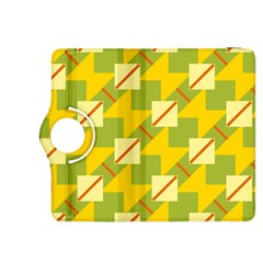Squares and stripes 			Kindle Fire HDX 8.9  Flip 360 Case by LalyLauraFLM