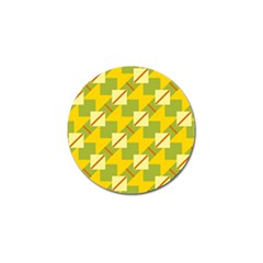 Squares And Stripes 			golf Ball Marker (4 Pack) by LalyLauraFLM
