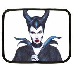 Maleficent Drawing Netbook Case (xl)  by KentChua