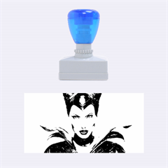 Maleficent Drawing Rubber Stamps (medium)  by KentChua