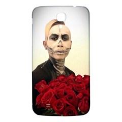 Halloween Skull Tux And Roses  Samsung Galaxy Mega I9200 Hardshell Back Case by KentChua