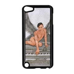 Angel And The Piano Drawing Apple Ipod Touch 5 Case (black) by KentChua