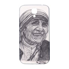 Mother Theresa  Pencil Drawing Samsung Galaxy S4 I9500/i9505  Hardshell Back Case by KentChua