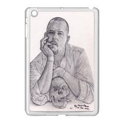 Alexander Mcqueen Pencil Drawing Apple Ipad Mini Case (white) by KentChua