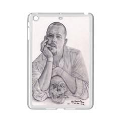 Alexander Mcqueen Pencil Drawing Ipad Mini 2 Enamel Coated Cases by KentChua