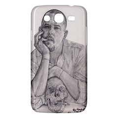 Alexander McQueen Pencil Drawing Samsung Galaxy Mega 5.8 I9152 Hardshell Case  by KentChua