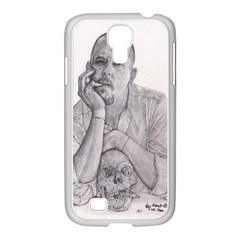 Alexander Mcqueen Pencil Drawing Samsung Galaxy S4 I9500/ I9505 Case (white) by KentChua