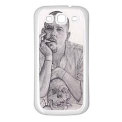 Alexander Mcqueen Pencil Drawing Samsung Galaxy S3 Back Case (white) by KentChua