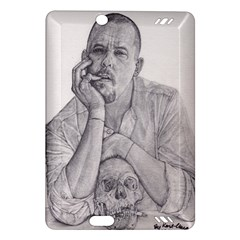 Alexander Mcqueen Pencil Drawing Kindle Fire Hd (2013) Hardshell Case by KentChua