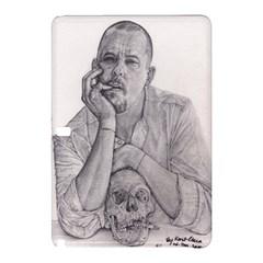 Alexander Mcqueen Pencil Drawing Samsung Galaxy Tab Pro 10 1 Hardshell Case by KentChua