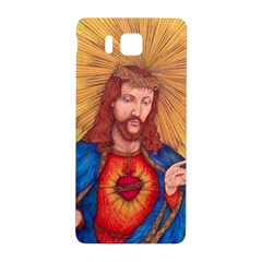 Sacred Heart Of Jesus Christ Drawing Samsung Galaxy Alpha Hardshell Back Case by KentChua