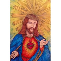 Sacred Heart Of Jesus Christ Drawing 5 5  X 8 5  Notebooks by KentChua