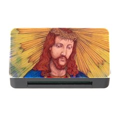 Sacred Heart Of Jesus Christ Drawing Memory Card Reader With Cf by KentChua