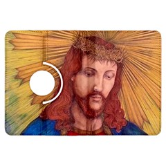 Sacred Heart Of Jesus Christ Drawing Kindle Fire Hdx Flip 360 Case by KentChua