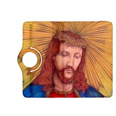 Sacred Heart Of Jesus Christ Drawing Kindle Fire Hdx 8 9  Flip 360 Case by KentChua