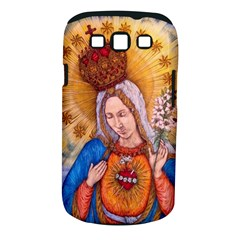 Immaculate Heart Of Virgin Mary Drawing Samsung Galaxy S III Classic Hardshell Case (PC+Silicone) by KentChua