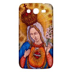 Immaculate Heart Of Virgin Mary Drawing Samsung Galaxy Mega 5 8 I9152 Hardshell Case  by KentChua
