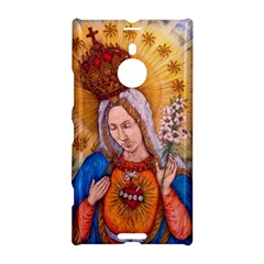 Immaculate Heart Of Virgin Mary Drawing Nokia Lumia 1520 by KentChua