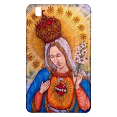 Immaculate Heart Of Virgin Mary Drawing Samsung Galaxy Tab Pro 8 4 Hardshell Case by KentChua