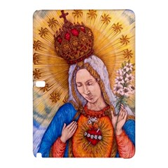 Immaculate Heart Of Virgin Mary Drawing Samsung Galaxy Tab Pro 12 2 Hardshell Case by KentChua