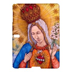 Immaculate Heart Of Virgin Mary Drawing Samsung Galaxy Tab S (10 5 ) Hardshell Case  by KentChua